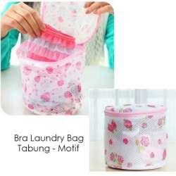 Bra laundry bag tabung motif 1  large