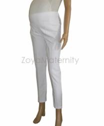 C1102 putih samping kiri celana hamil  large