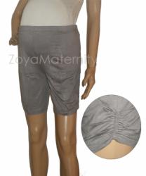 C3041 abu depan legging hamil  large